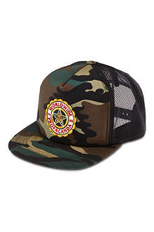 OBEY Burnside camo trucker hat