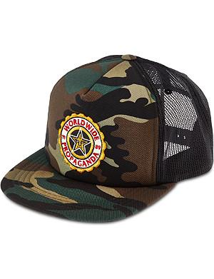 OBEY Burnside camo trucker hat