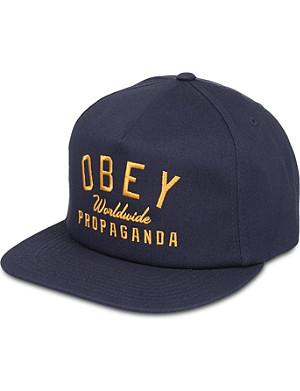 OBEY Club snapback cap