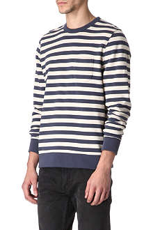 OBEY Striped jumper