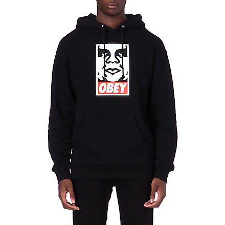 OBEY OG Face hoody (Black