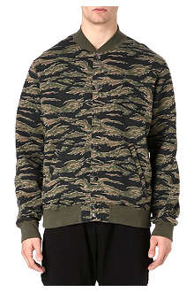 OBEY Obey fleece varisty jacket