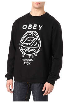OBEY Wet Lips sweatshirt