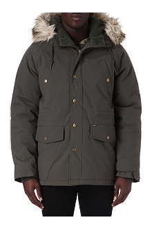 OBEY Faux-fur parka jacket