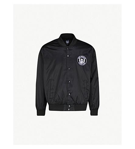 OBEY OBEY x Misfits Fiend Club patch satin-shell jacket (Black