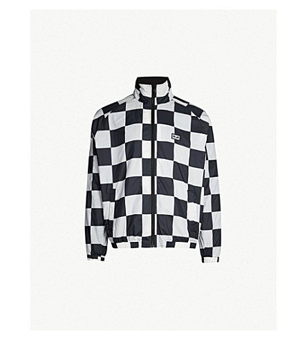 OBEY Checkerboard shell jacket (Checker
