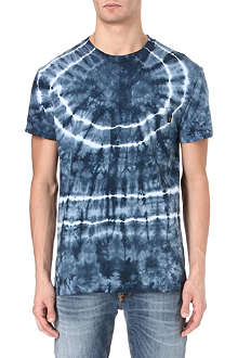 OBEY Tie-dye pocket t-shirt