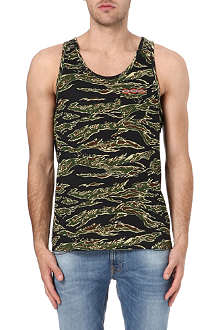 OBEY Jungle Tiger camouflage-print vest