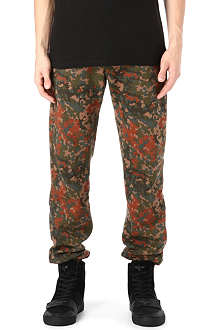 OBEY Camouflage jogging bottoms