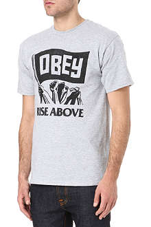OBEY Rise Above t-shirt