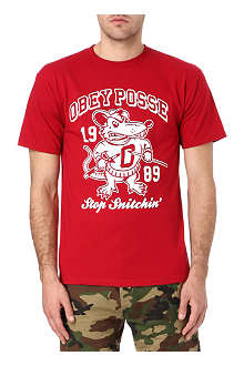 OBEY Stop Snitchin' t-shirt