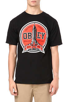 OBEY All City League t-shirt