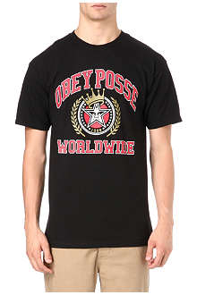 OBEY Obey Posse Worldwide t-shirt