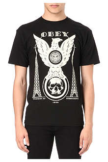 OBEY Eagle towers t-shirt
