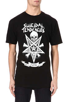 OBEY Suicidal Star t-shirt
