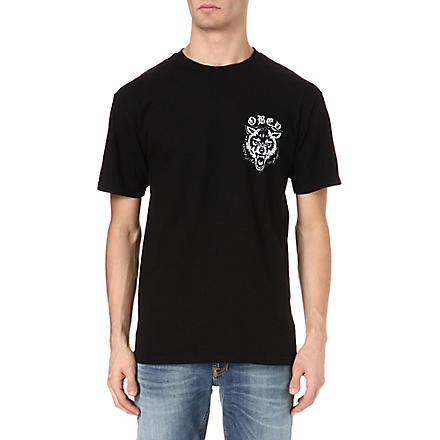 OBEY Wolf t-shirt (Black