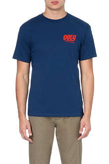 OBEY Records logo t-shirt