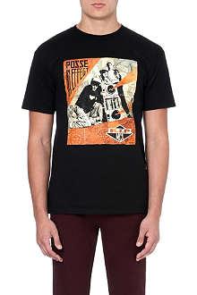 OBEY R.I.P MCA print t-shirt