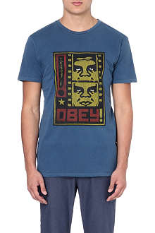 OBEY Filmstrip cotton t-shirt
