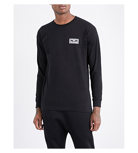 OBEY Obey no one cotton-jersey T-shirt (Black