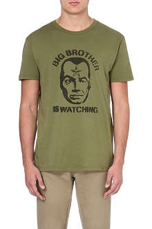 OBEY Big Brother Face t-shirt