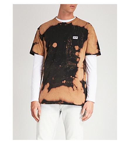 OBEY Jumble cotton-jersey T-shirt (Black