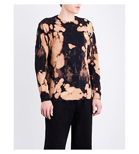 OBEY Bleach Spill cotton-jersey top (Bleach+spill