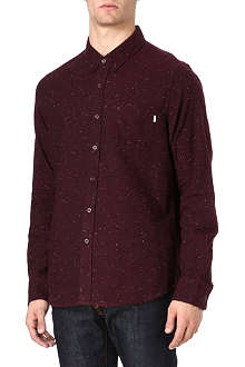 OBEY Speckled flannel shirt