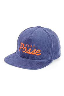 OBEY Post Game posse snapback cap