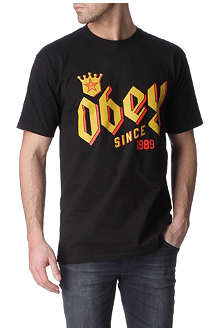 OBEY Bar King t-shirt