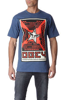 OBEY Fire in the Sky t-shirt