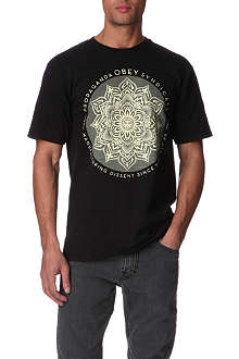 OBEY Lotus Syndicate t-shirt