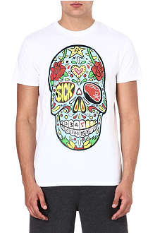 SNCL Sick skull cotton t-shirt