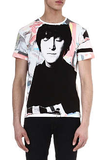 DAVID BAILEY John Lennon t-shirt