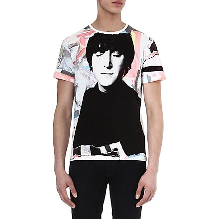 DAVID BAILEY John Lennon t-shirt (White