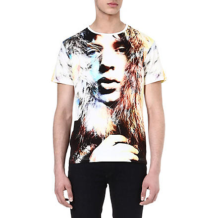 DAVID BAILEY Mick Jagger t-shirt (White