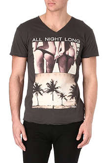 DEATH BY ZERO All Night Long t-shirt