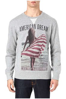 DEATH BY ZERO American Dream sweatshirt