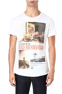 DEATH BY ZERO Bad Behaviour t-shirt