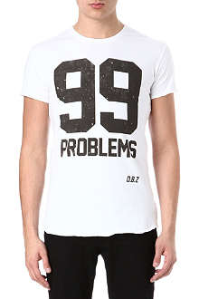 DEATH BY ZERO 99 Problems t-shirt