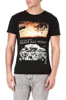 DEATH BY ZERO Dance All Night t-shirt
