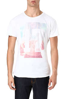 DEATH BY ZERO Seventeen graphic t-shirt