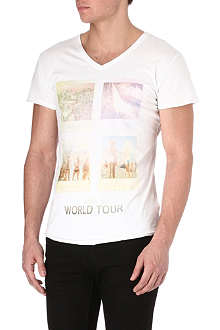 DEATH BY ZERO World Tour t-shirt