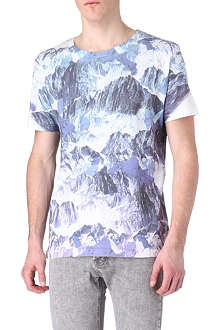 NEW LOVE CLUB Mountain range t-shirt