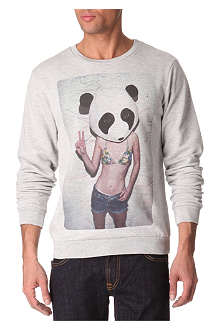 NEW LOVE CLUB Panda sweatshirt