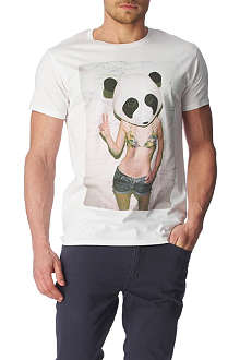 NEW LOVE CLUB Panda t-shirt