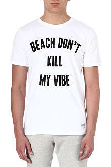 A QUESTION OF Beach don't kill my vibe t-shirt