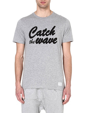A QUESTION OF Catch The Wave organic cotton t-shirt