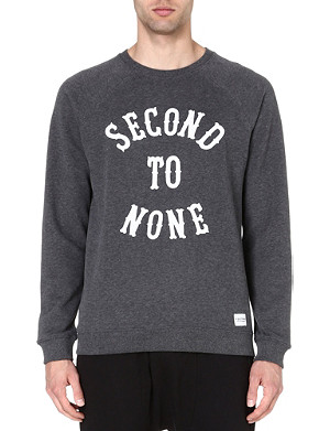 A QUESTION OF Second To None organic cotton sweatshirt