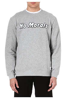 A QUESTION OF No morals sweatshirt